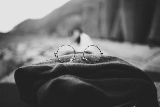 Las gafas hipster siempre a la moda