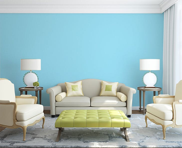 Colores de pintura para paredes de moda comedor con una for Colores de moda para pintar paredes