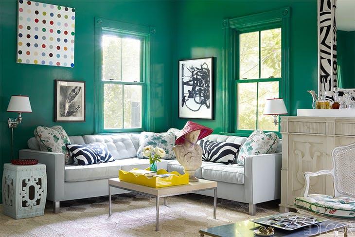 5 colores de moda para paredes