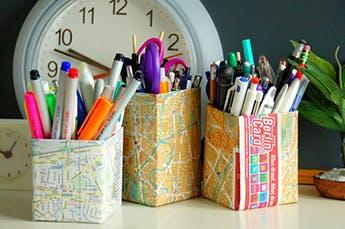 5 manualidades con reciclaje que te sorprenderán