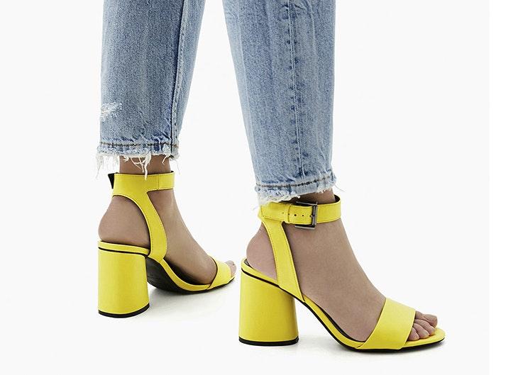 Sandalias de tacón: descubre las mejores tendencias