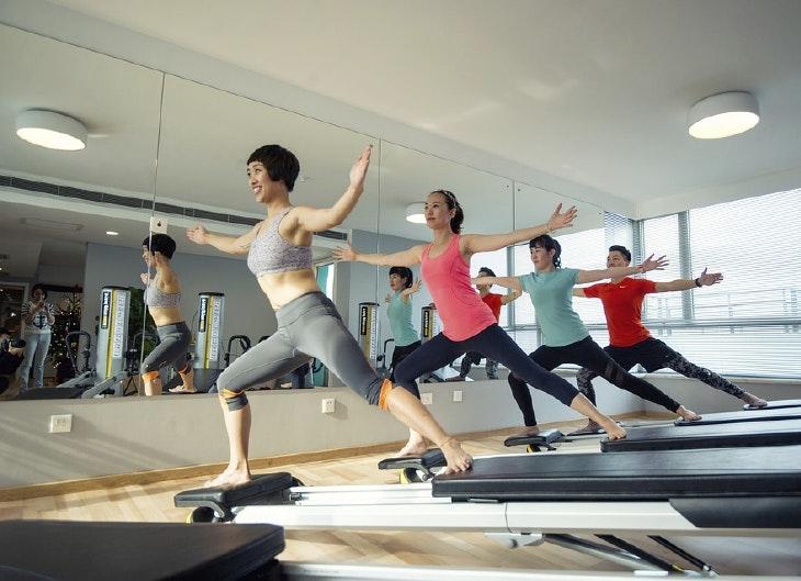 Los magníficos beneficios del pilates