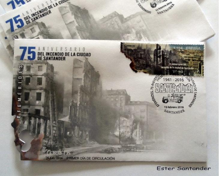 Descubre la ruta del incendio de Santander