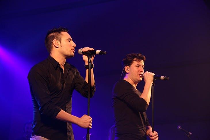 Concierto de Andy & Lucas en Maliaño