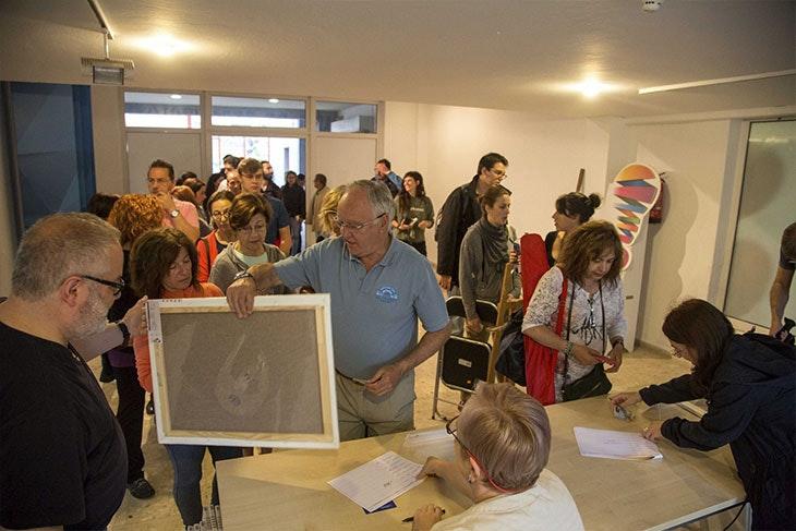 Disfruta de la exposición del 28º Concurso Pintura Rápida