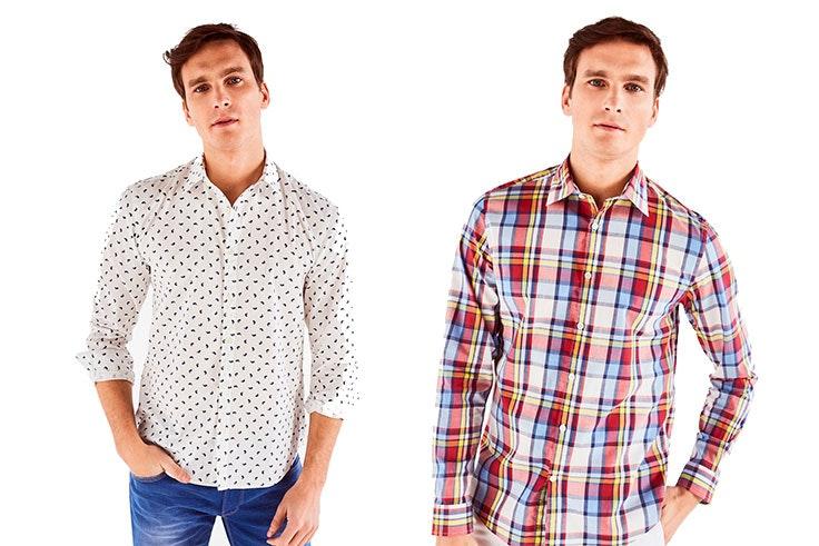 Camisas hombre Cortefiel