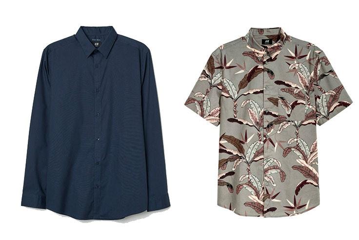 Camisas hombre H&M