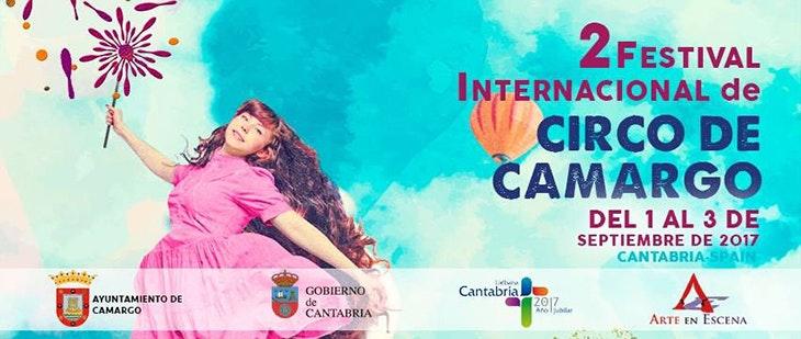 Descubre el cartel del II Festival Internacional de Circo de Calle-CIRCAM