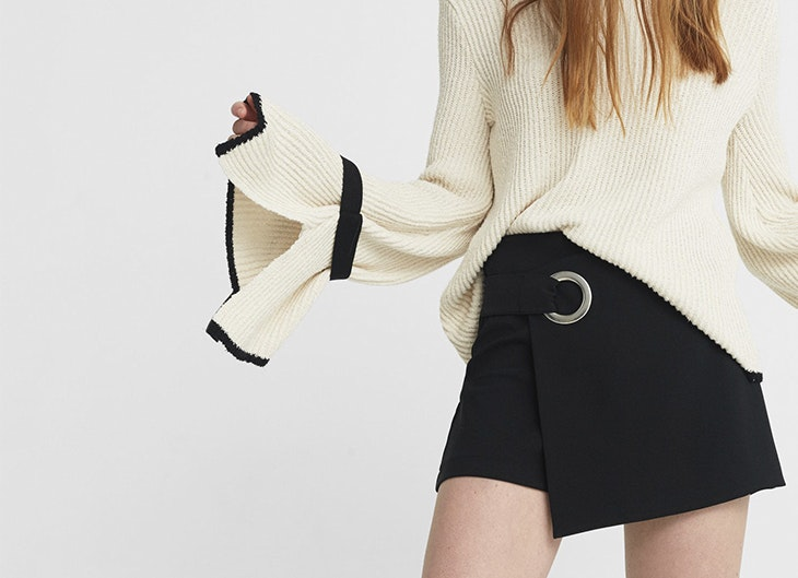 4 ideas con falda pantalón para tus looks más formales