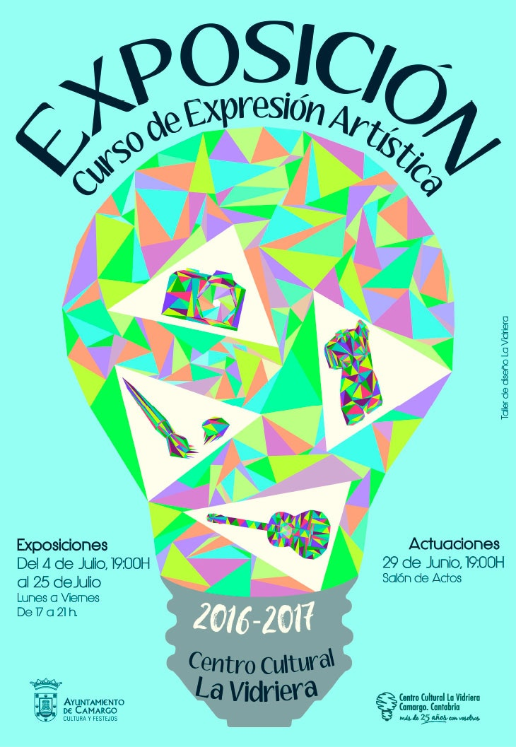 Visita la exposición del Curso de Expresión Artística de La Vidriera