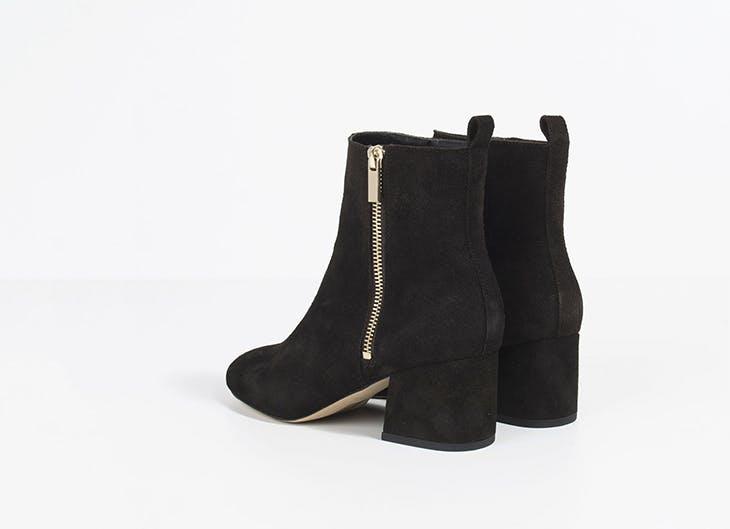 Los botines negros que se llevarán este otoño