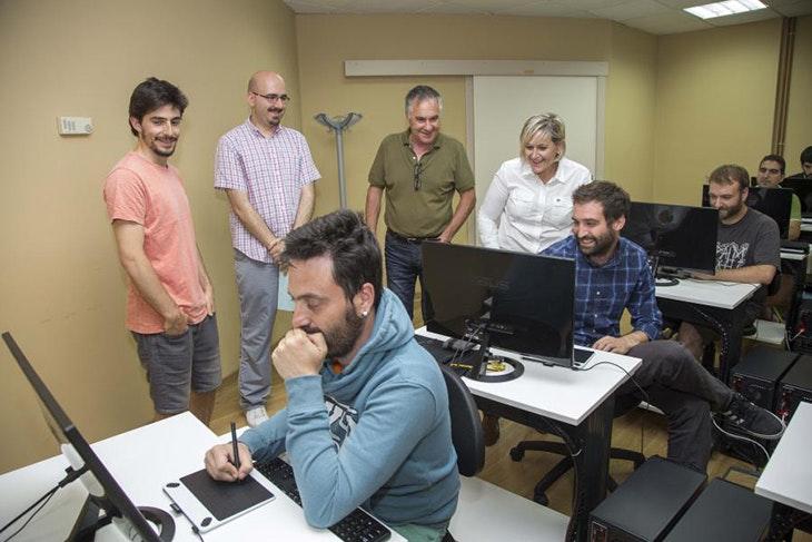 Apúntate a los nuevos cursos de creación de videojuegos de Camargo