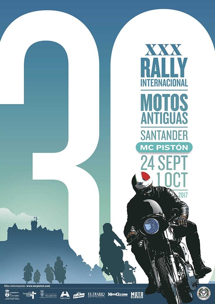 Vuelve el 'Rally Internacional de Motos Antiguas de Santander'