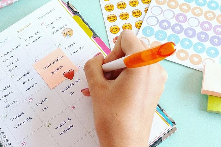 Agenda, escolar, colegio