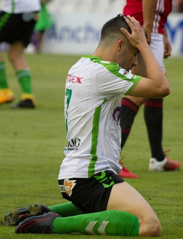Primera derrota del Racing en la liga ante el Mirandés