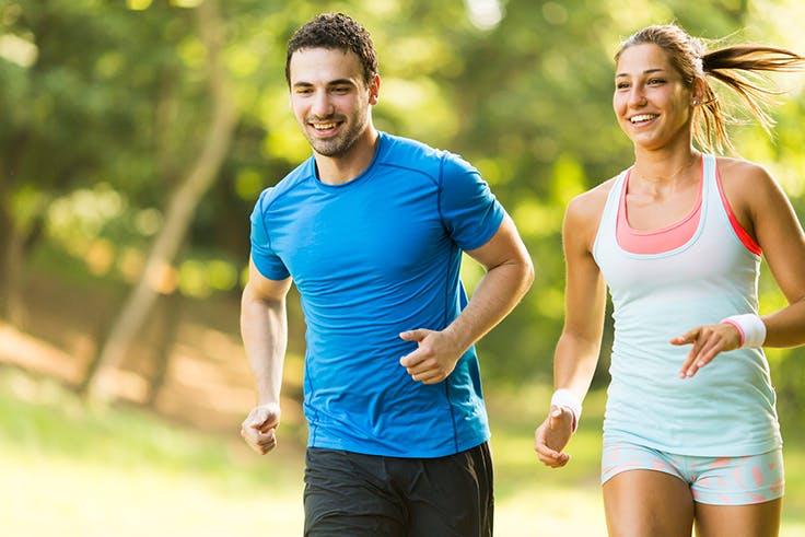 Ejercicio, saludable, deporte, correr