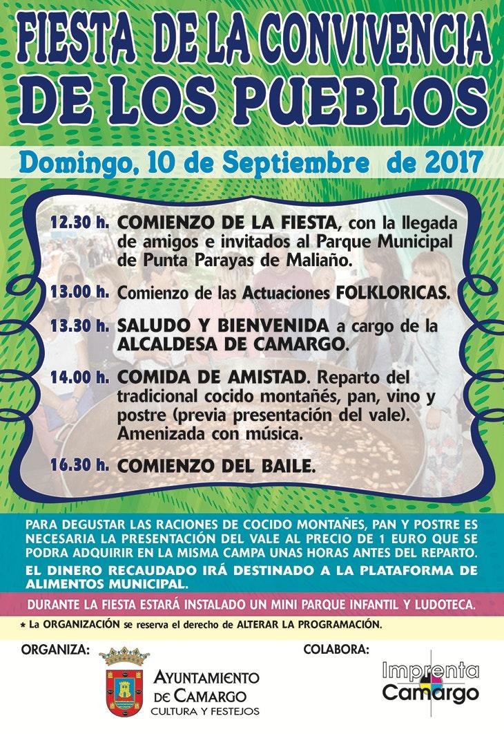 Fiesta de la Convivencia de los Pueblos 2017 en Camargo