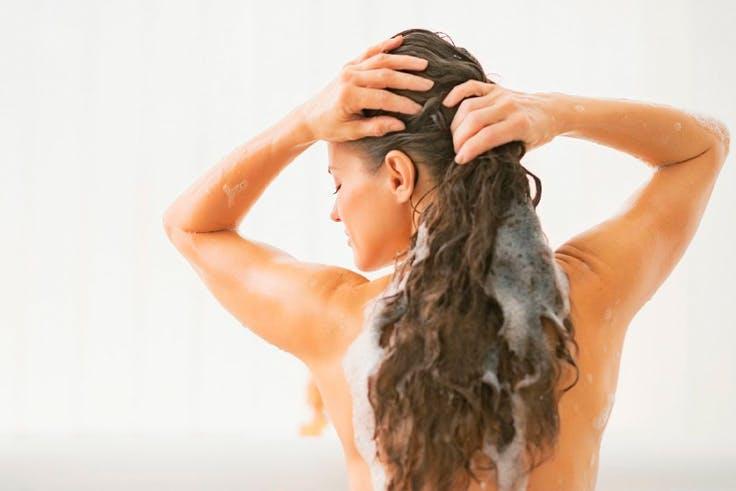champú, cabello, cuidados