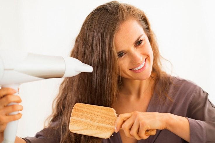 cabello, secador, peine