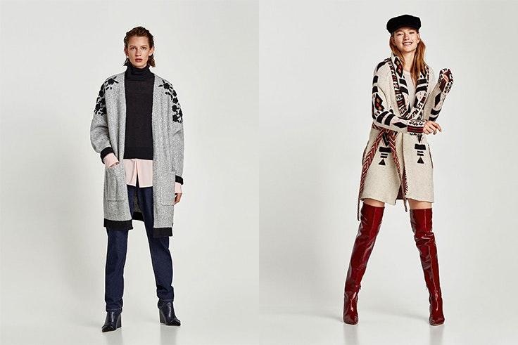 moda, otoño, chaqueta, abrigo, zara