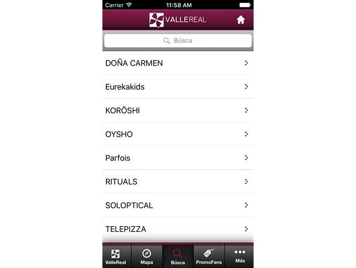 Descarga la App  de Valle Real y conoce las facilidades que te ofrece