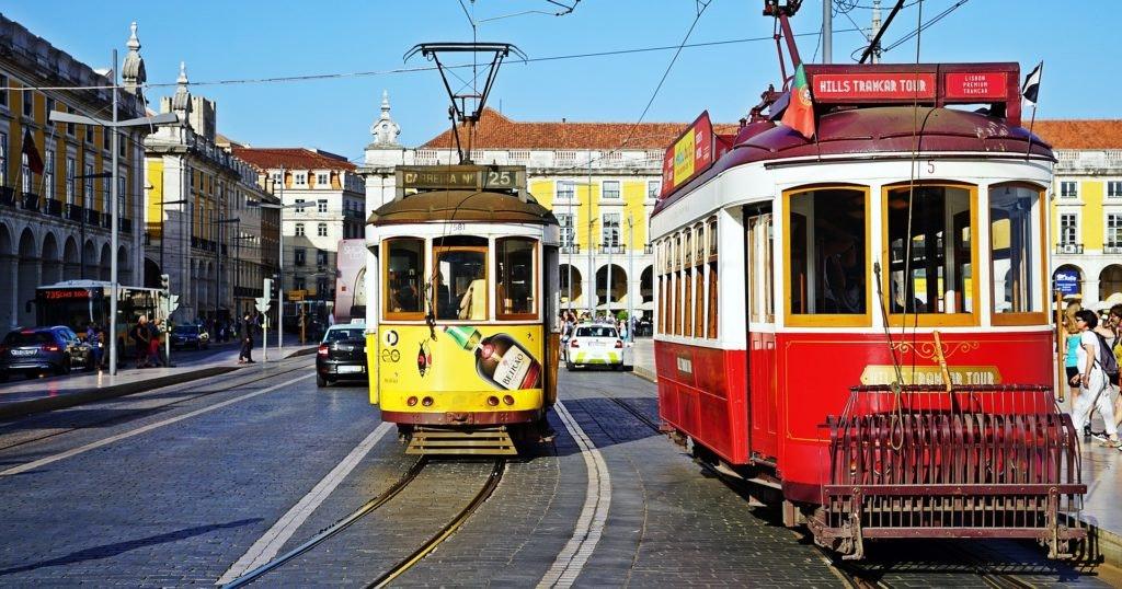 lisboa, portugal, tranvia