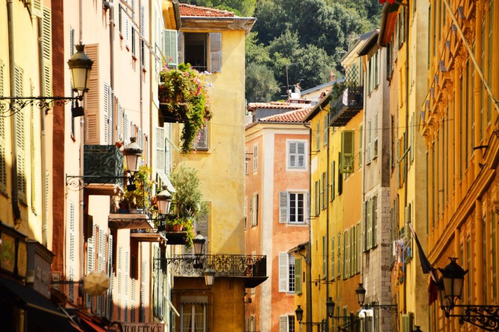 arquitectura, niza, francia, edificios
