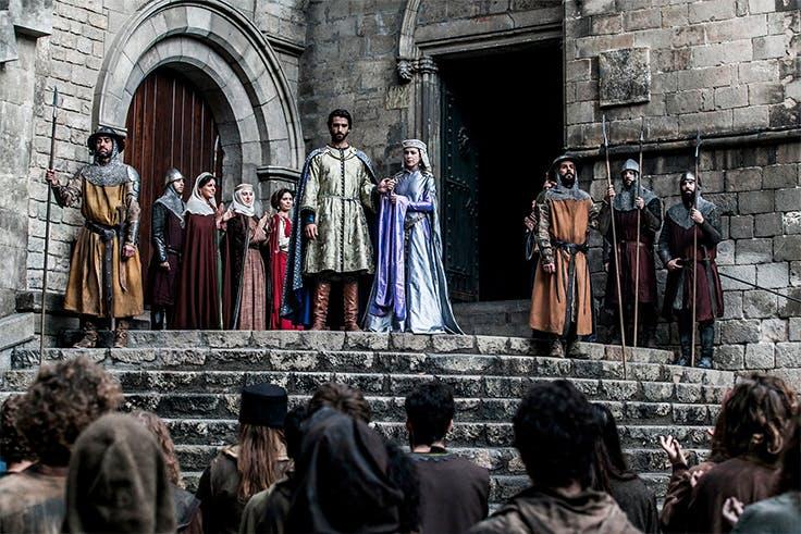 serie, española, catedral, actores