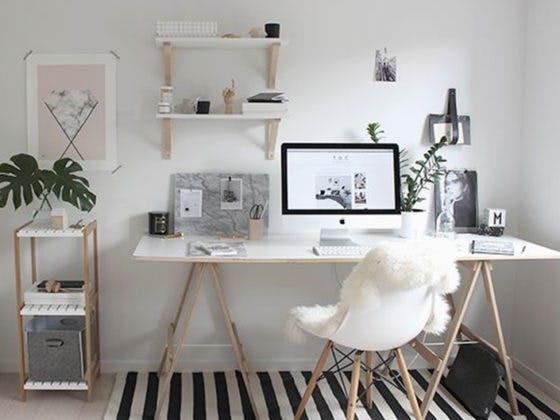 Decoración, trabajo, casa, hogar