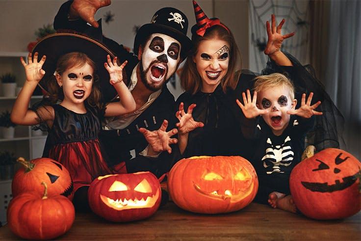 Ideas originales de disfraces de Halloween para disfrutar en familia.