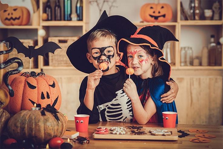 Ideas para disfraces de Halloween para niños.