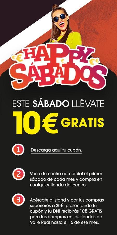 Pasos Promoción Happy Sabados