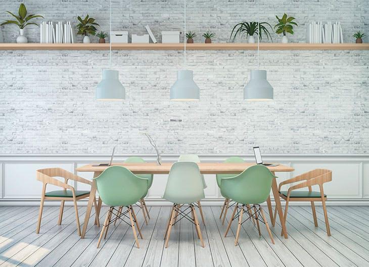 Decora tu casa en tonalidades verdes, dará frescura