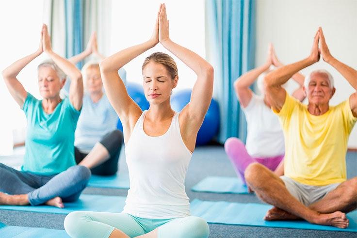 Cualquiera puede practicar yoga