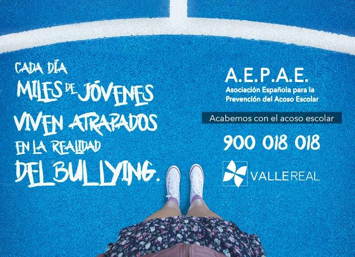 Súmate a la campaña de 'Atrapados' y Valle Real donará 1€ a AEPAE