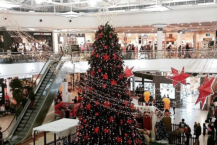 Árbol de Navidad en Valle Real