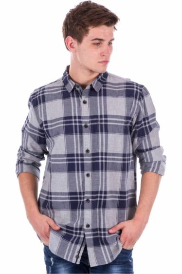 Bench CAMISA MANGA LARGA HOMBRE FLANNEL CHECK-445423_00