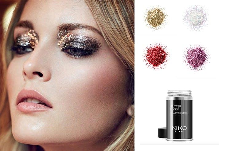 Maquillaje Glitter para Navidad