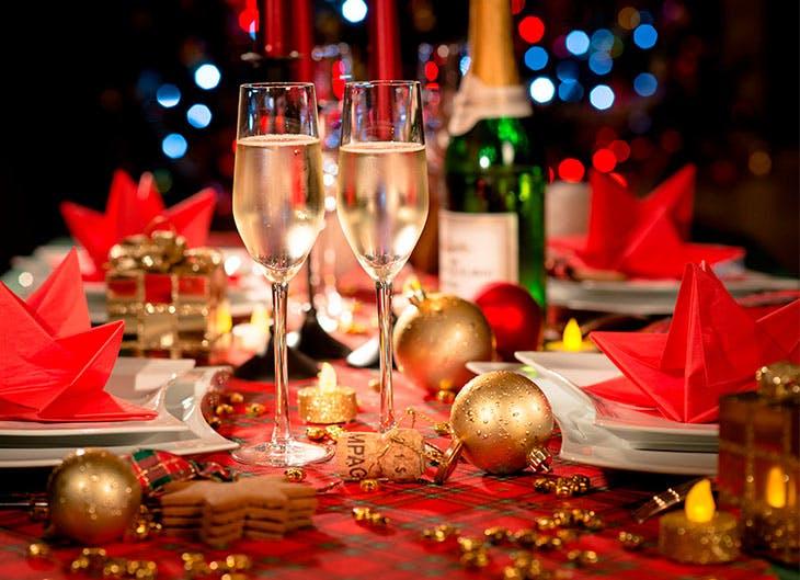 3 ideas para decorar la mesa de navidad por noche buena - Decorar la mesa en navidad ...