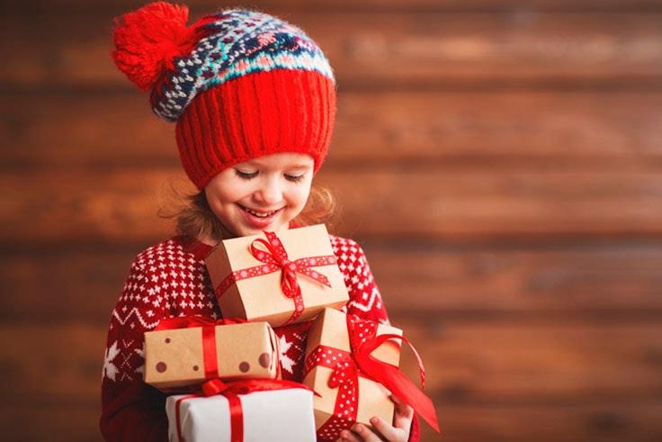 regalos para los niños en Navidad