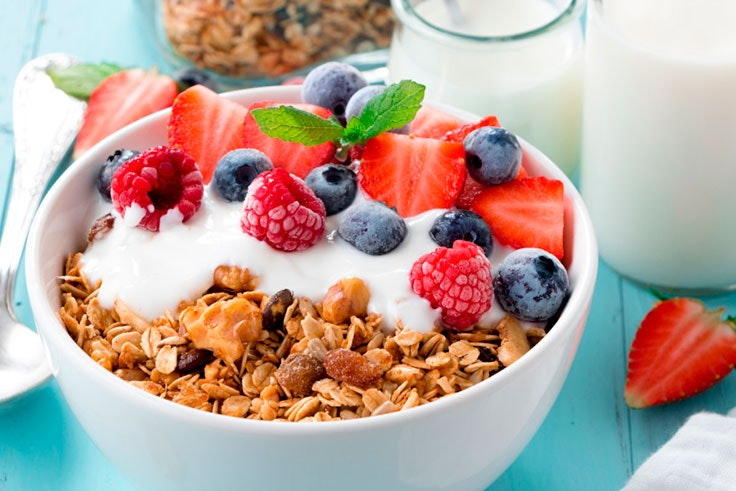 desayuno sano saludable