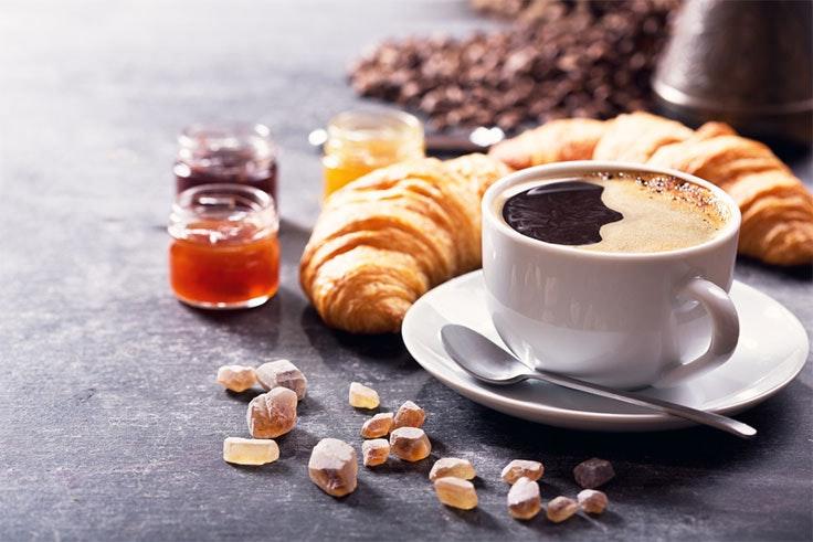 promoción de desayuno de Valle Real