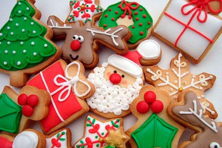 galletas Navidad dulces