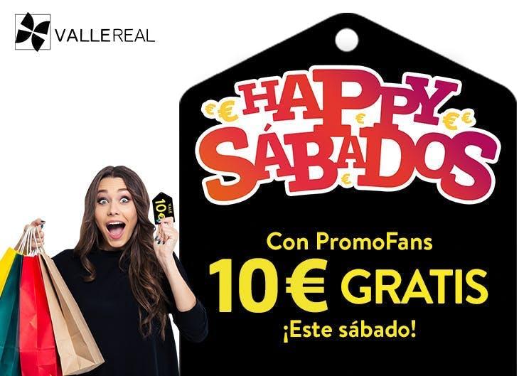 Consigue tu cupón de Happy Sábados en Valle Real