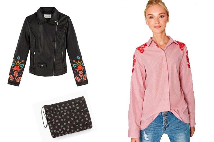 camisa cazadora bolso moda prendas
