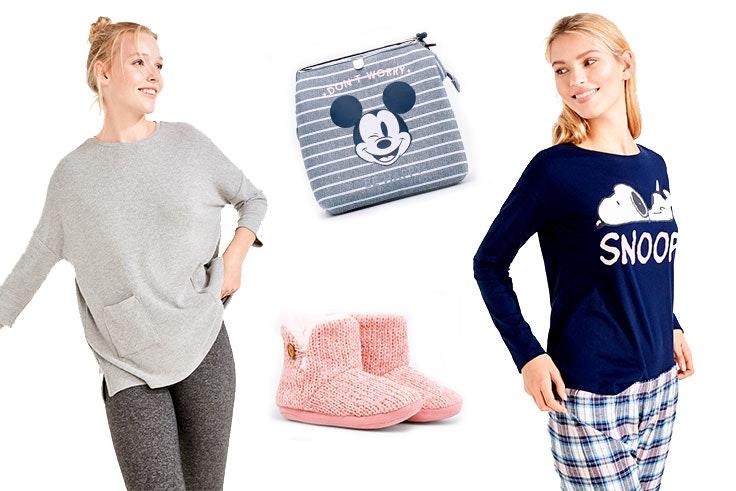 moda, complementos, pijama