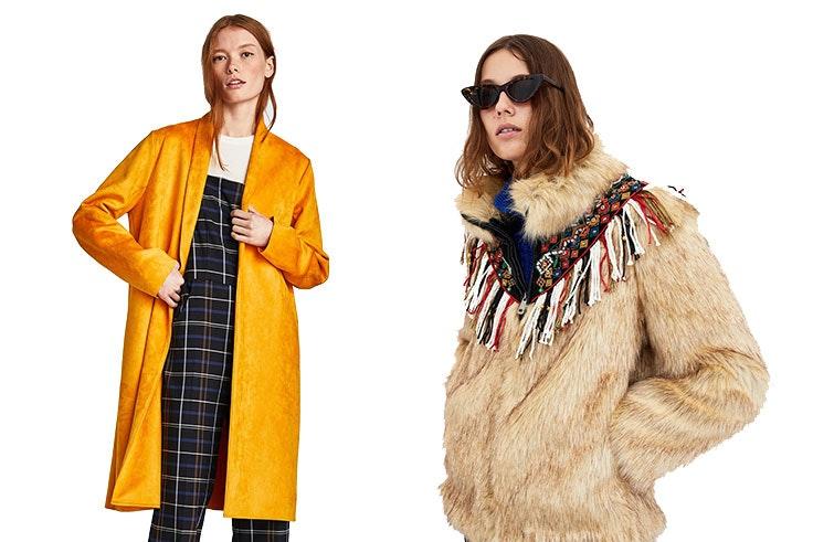 Nuevos abrigos de temporada en Zara
