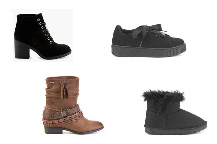 rebajas en calzado de la zapatería Merkal