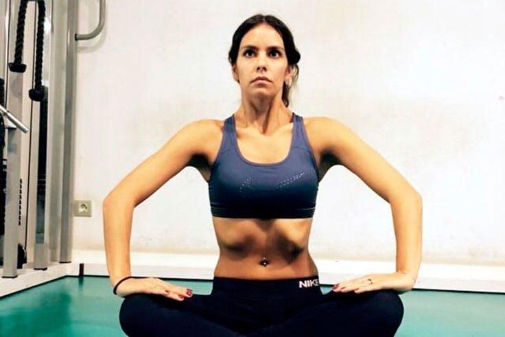 Cristina Pedroche se ha apuntado a la práctica de abdominales hipopresivos