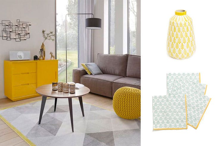 Artículos de decoración 'color block' de Zara Home